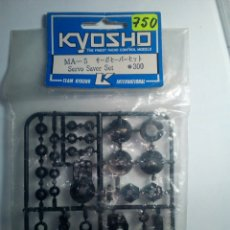 Radio Control: KYOSHO-SERVO SAVER SET-MA-5-.300. Lote 171005482