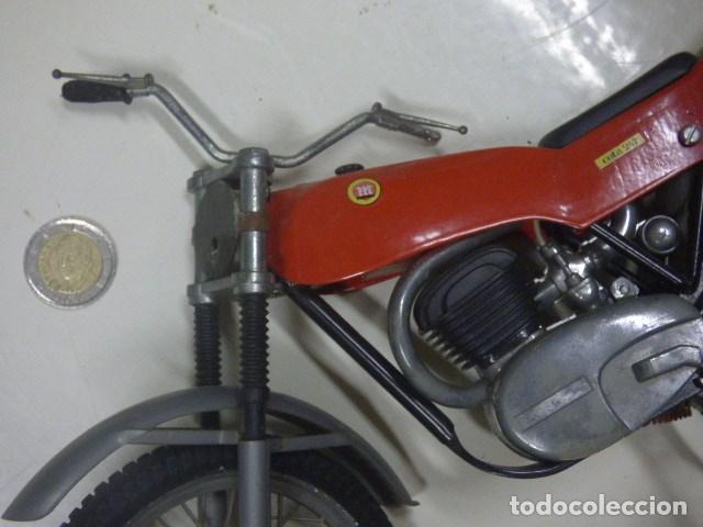 Radio Control: moto teledirida con cable años 70 - Foto 2 - 171505185