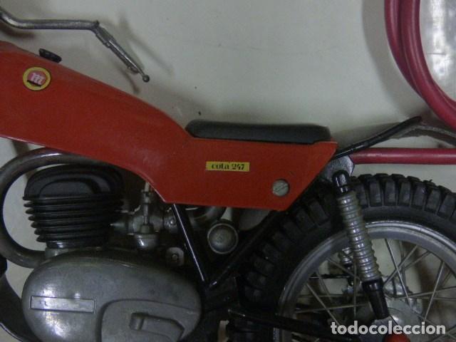 Radio Control: moto teledirida con cable años 70 - Foto 3 - 171505185