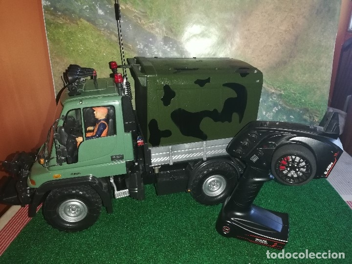 Radio Control: MERCEDES UNIMOG TAMIYA RC CUSTOM (VER VIDEO) - Foto 1 - 172911955