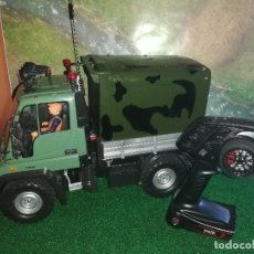 Radio Control: MERCEDES UNIMOG TAMIYA RC CUSTOM (VER VIDEO). Lote 172911955