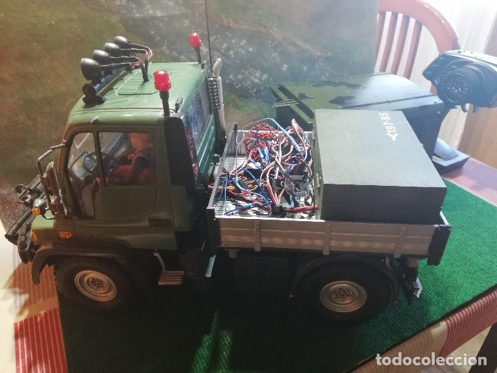 Radio Control: MERCEDES UNIMOG TAMIYA RC CUSTOM (VER VIDEO) - Foto 8 - 172911955
