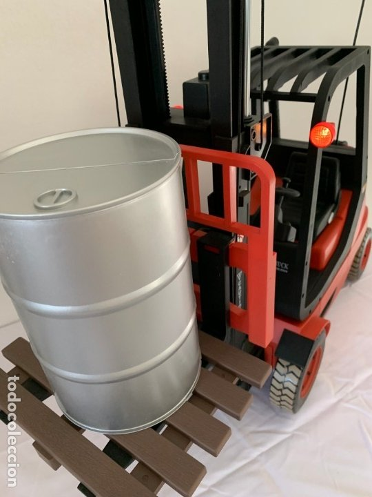 Radio Control: Carretilla elevadora radio control escala 1:6 gigante fork lift truck rc giant - Foto 5 - 174033993