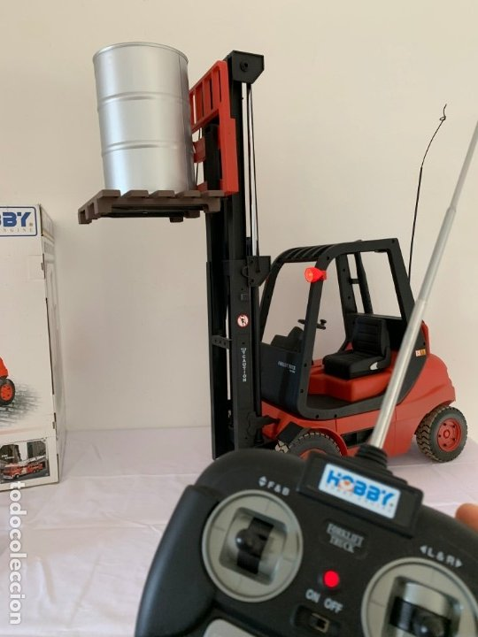 Radio Control: Carretilla elevadora radio control escala 1:6 gigante fork lift truck rc giant - Foto 6 - 174033993