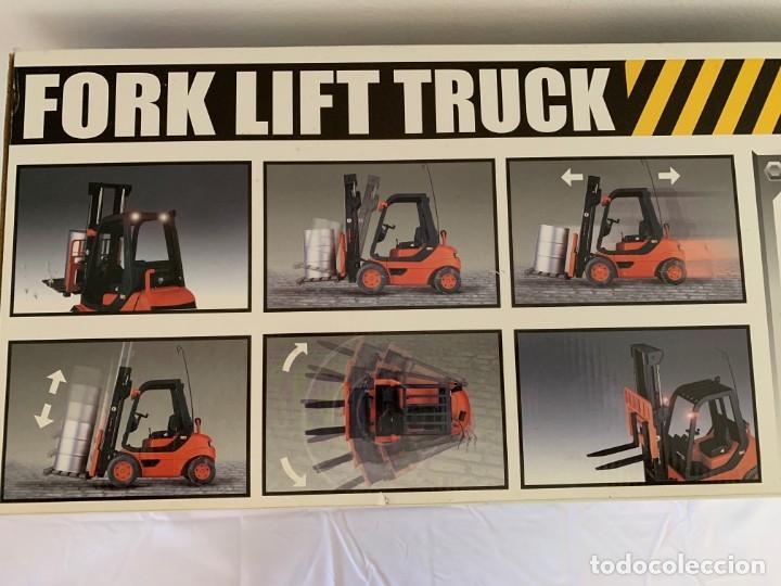 Radio Control: Carretilla elevadora radio control escala 1:6 gigante fork lift truck rc giant - Foto 19 - 174033993