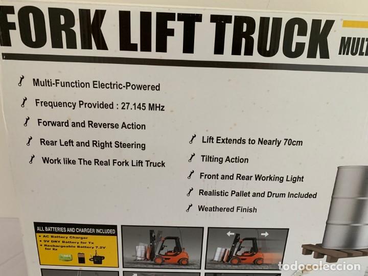 Radio Control: Carretilla elevadora radio control escala 1:6 gigante fork lift truck rc giant - Foto 21 - 174033993