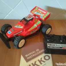 Radio Control: NIKKO BUGGY CHIPMUNK RADIOCONTROL. Lote 174296953