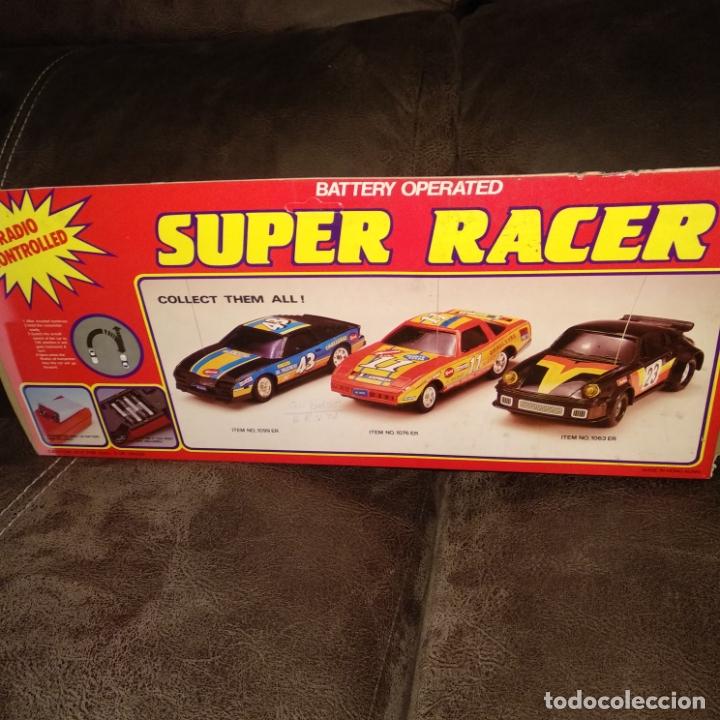 Radio Control: coche radiocontrol super Racer vintage nuevo a estrenar - Foto 2 - 176515365