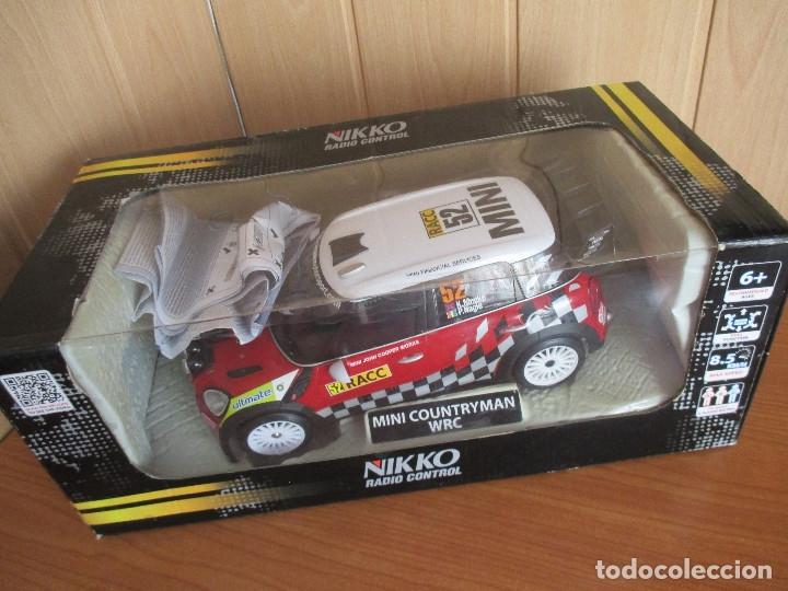 NIKKO RADIO CONTROL: BONITO MINI COUNTRYMAN WRC (ESCALA 1/16) NUEVO SIN USO (Juguetes - Modelismo y Radiocontrol - Radiocontrol - Coches y Motos)