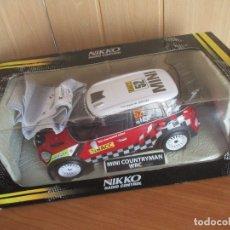 Radio Control: NIKKO RADIO CONTROL: BONITO MINI COUNTRYMAN WRC (ESCALA 1/16) NUEVO SIN USO. Lote 177058360