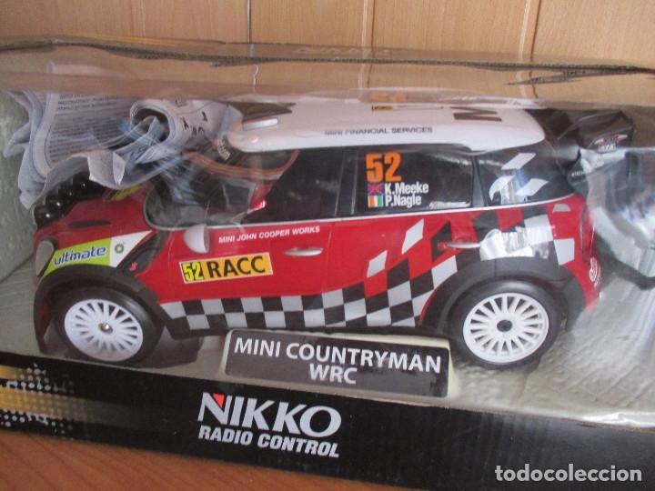 Radio Control: NIKKO RADIO CONTROL: BONITO MINI COUNTRYMAN WRC (ESCALA 1/16) NUEVO SIN USO - Foto 2 - 177058360