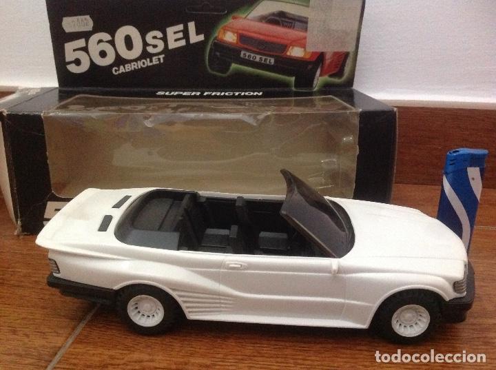 Radio Control: Coche cabriolet 560 sel nuevo - Foto 2 - 177694617