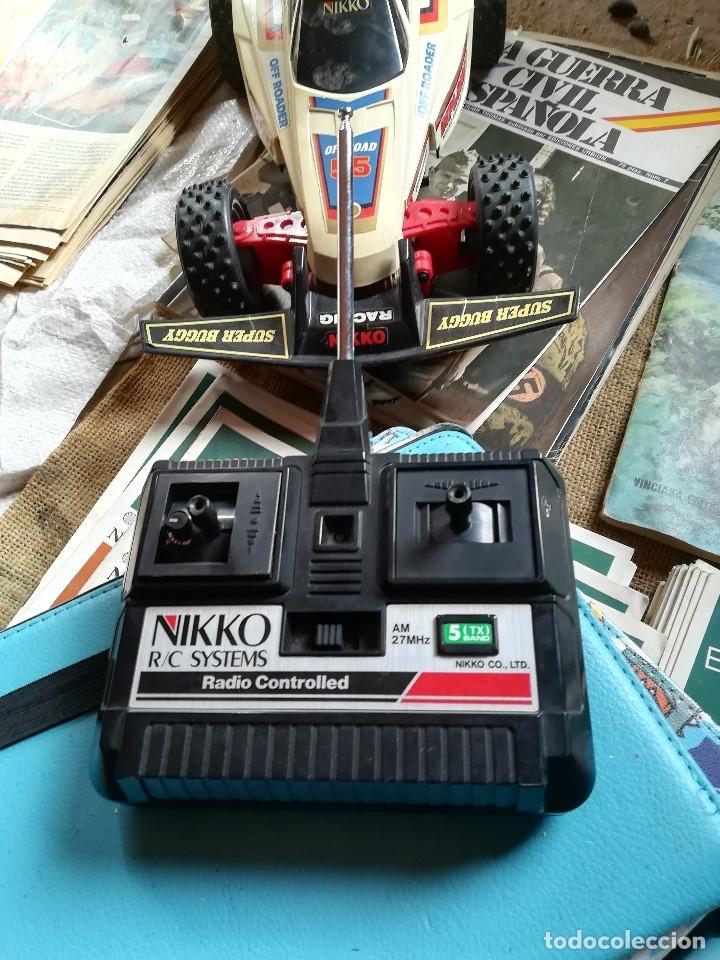 Radio Control: BOLIDO A PILAS Y RADIO CONTROL SUPER BUGGGY NIKKO DIPLOMAT 55 OFF ROAD - Foto 3 - 241784365