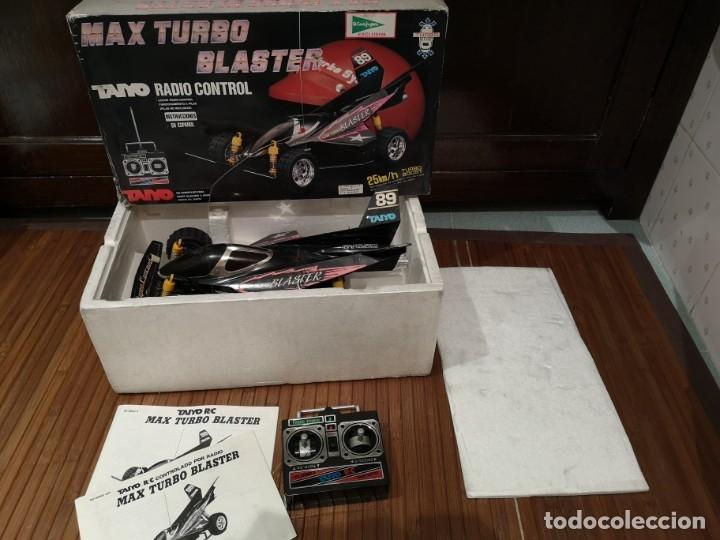 TAIYO MAX TURBO BLASTER RADIO CONTROL (Juguetes - Modelismo y Radiocontrol - Radiocontrol - Coches y Motos)