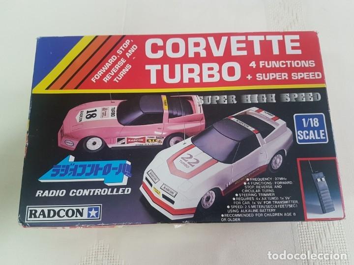 CORVETTE TURBO DE RADCON (Juguetes - Modelismo y Radiocontrol - Radiocontrol - Coches y Motos)