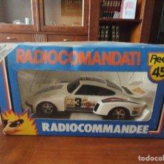 Radio Control: PORSCHE ELF. GIULIETA POLIZIA. PORCHE MARTINI. Lote 182123020