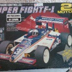 Radio Control: COCHE SUPER FIGHT F-1. Lote 182629692