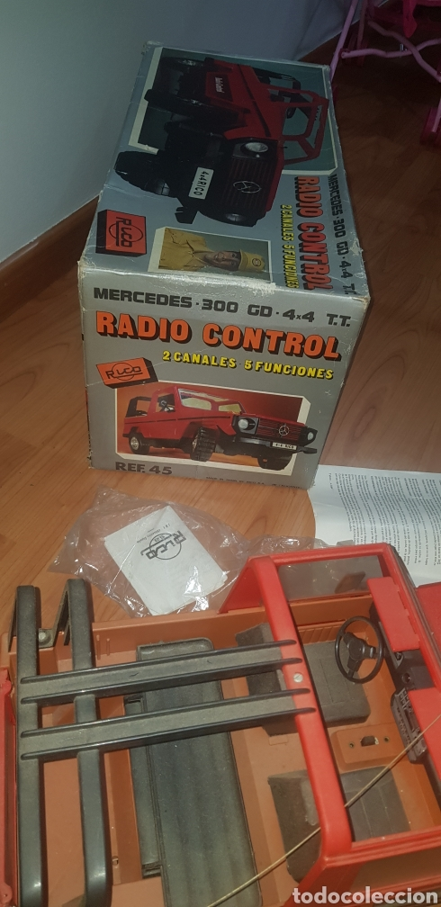 Radio Control: Coche rico antiguo mercedes - Foto 10 - 182693491