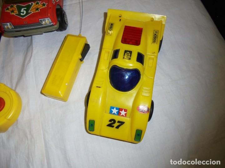 Radio Control: 2 COCHES TELEDIRIGIDOS Y UNO A FRICCION.COCHE NODDY.COCHE A FRICCION BOMBEROS OBERTOIS,COCHE CARRERA - Foto 13 - 183173192