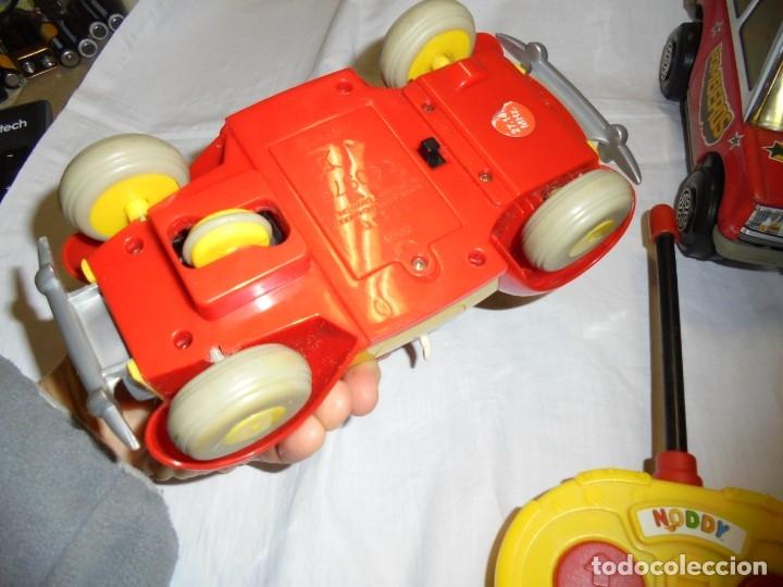 Radio Control: 2 COCHES TELEDIRIGIDOS Y UNO A FRICCION.COCHE NODDY.COCHE A FRICCION BOMBEROS OBERTOIS,COCHE CARRERA - Foto 16 - 183173192