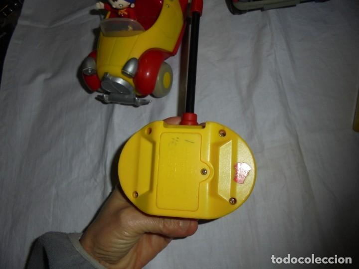 Radio Control: 2 COCHES TELEDIRIGIDOS Y UNO A FRICCION.COCHE NODDY.COCHE A FRICCION BOMBEROS OBERTOIS,COCHE CARRERA - Foto 18 - 183173192