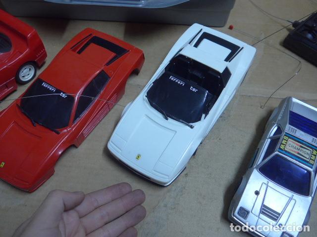 Radio Control: * Antiguo lote de coches teledirigido o radio control, años 80-90, originales. Ferrari. ZX - Foto 3 - 184259822