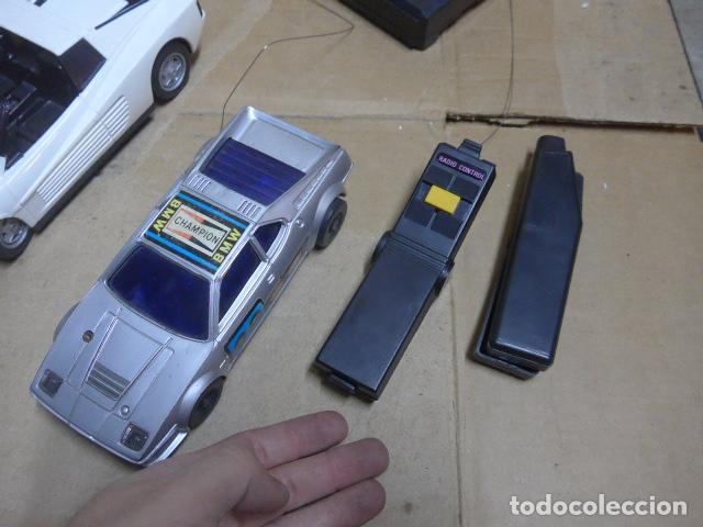 Radio Control: * Antiguo lote de coches teledirigido o radio control, años 80-90, originales. Ferrari. ZX - Foto 4 - 184259822