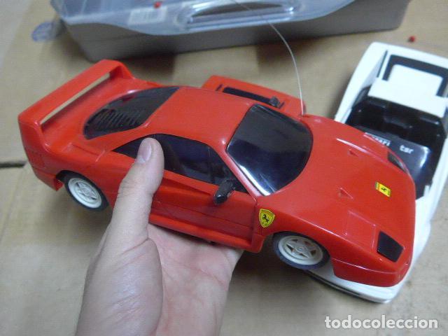 Radio Control: * Antiguo lote de coches teledirigido o radio control, años 80-90, originales. Ferrari. ZX - Foto 9 - 184259822