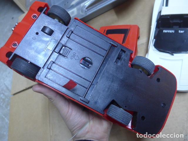 Radio Control: * Antiguo lote de coches teledirigido o radio control, años 80-90, originales. Ferrari. ZX - Foto 10 - 184259822