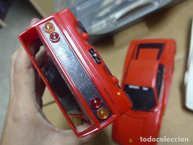 Radio Control: * Antiguo lote de coches teledirigido o radio control, años 80-90, originales. Ferrari. ZX - Foto 11 - 184259822