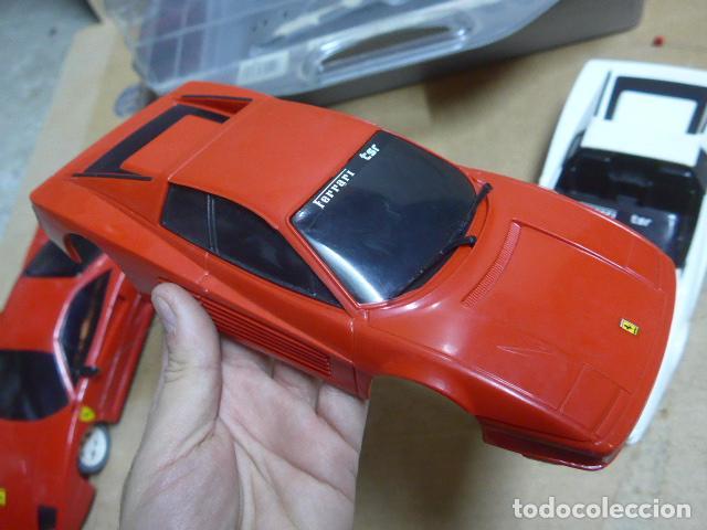 Radio Control: * Antiguo lote de coches teledirigido o radio control, años 80-90, originales. Ferrari. ZX - Foto 12 - 184259822