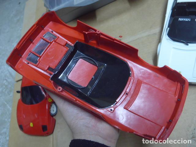 Radio Control: * Antiguo lote de coches teledirigido o radio control, años 80-90, originales. Ferrari. ZX - Foto 13 - 184259822