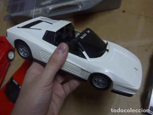 Radio Control: * Antiguo lote de coches teledirigido o radio control, años 80-90, originales. Ferrari. ZX - Foto 14 - 184259822