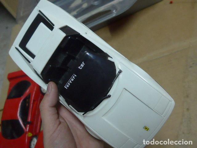 Radio Control: * Antiguo lote de coches teledirigido o radio control, años 80-90, originales. Ferrari. ZX - Foto 15 - 184259822