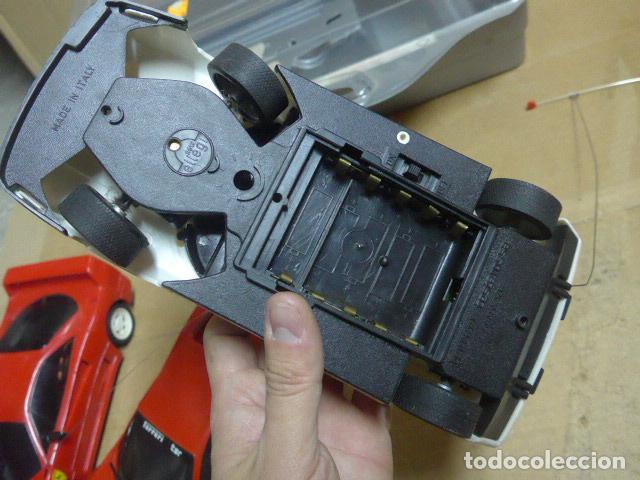 Radio Control: * Antiguo lote de coches teledirigido o radio control, años 80-90, originales. Ferrari. ZX - Foto 16 - 184259822