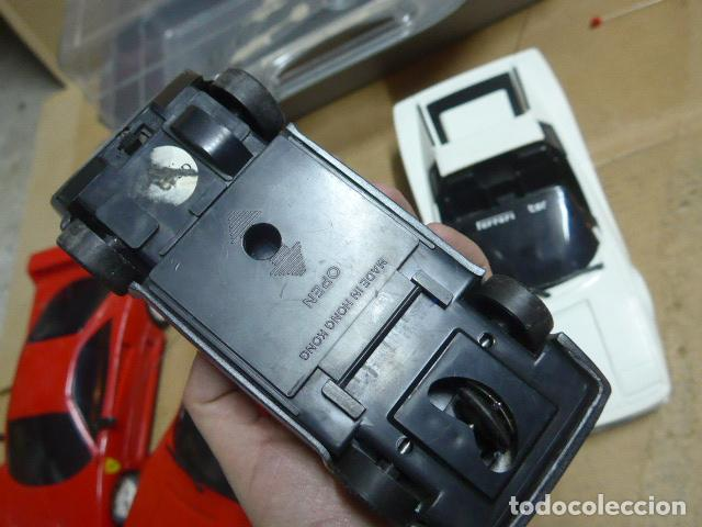 Radio Control: * Antiguo lote de coches teledirigido o radio control, años 80-90, originales. Ferrari. ZX - Foto 20 - 184259822