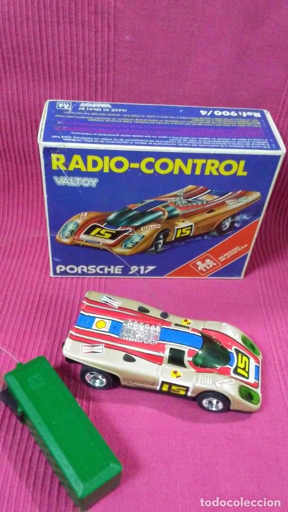 PORSCHE 917. RADIO-CONTROL. MADE IN SPAIN BY VALTOY. (Juguetes - Modelismo y Radiocontrol - Radiocontrol - Coches y Motos)