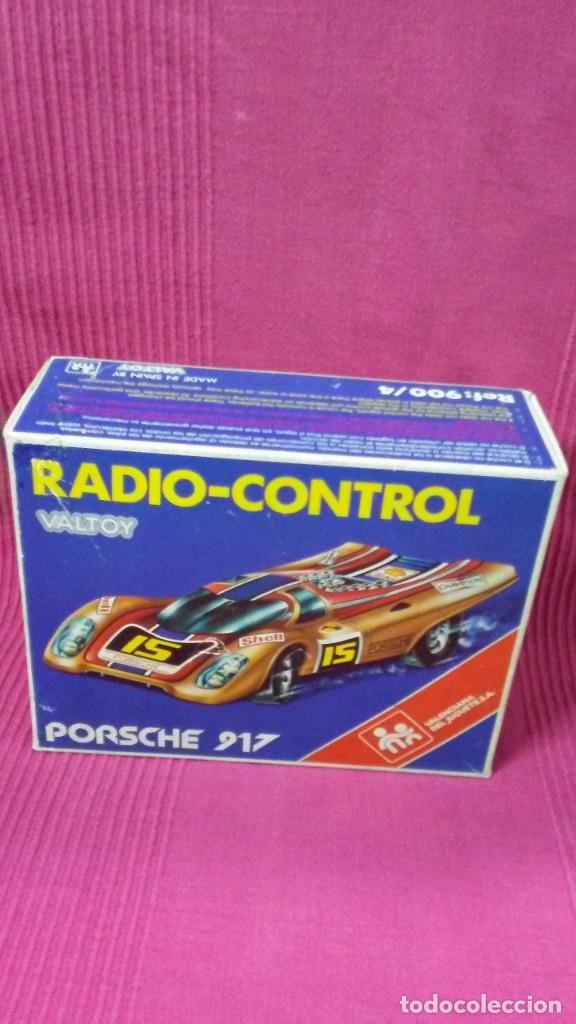 Radio Control: PORSCHE 917. RADIO-CONTROL. MADE IN SPAIN BY VALTOY. - Foto 13 - 184316040