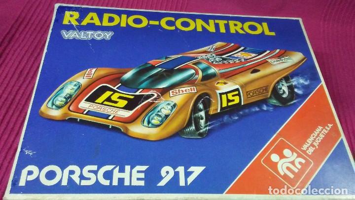 Radio Control: PORSCHE 917. RADIO-CONTROL. MADE IN SPAIN BY VALTOY. - Foto 14 - 184316040