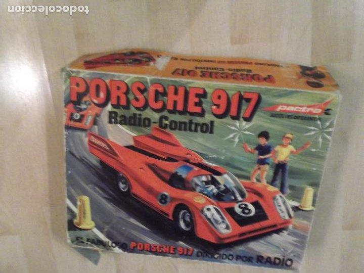 Radio Control: Fabuloso Coche PORSCHE 917 Radio Control PACTRA Ref 745 Caja Original Fabricado,en España ver fotos - Foto 2 - 189122777