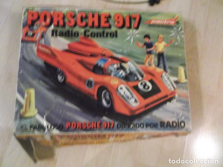 FABULOSO COCHE PORSCHE 917 RADIO CONTROL PACTRA REF 745 CAJA ORIGINAL FABRICADO,EN ESPAÑA VER FOTOS (Juguetes - Modelismo y Radiocontrol - Radiocontrol - Coches y Motos)