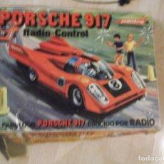 Radio Control: FABULOSO COCHE PORSCHE 917 RADIO CONTROL PACTRA REF 745 CAJA ORIGINAL FABRICADO,EN ESPAÑA VER FOTOS. Lote 189122777