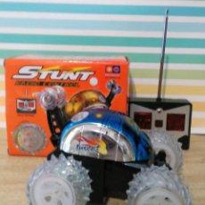 Radio Control: COCHE STUNT RADIO CONTROL SUPER TURBO SOMERSAULT RACER. Lote 190297475