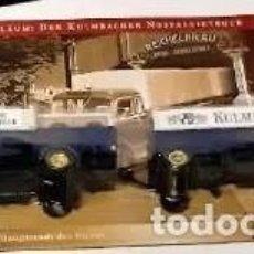 Radio Control: TRAILER CON REMOLQUE KRUPP TITAN, 1953 , 1/87, EDICIÓN ESPECIAL, TOTALMENTE EN METAL.. Lote 193330435