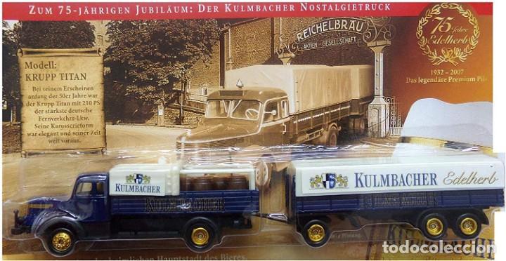 Radio Control: Trailer con remolque krupp titan, 1953 , 1/87, edición especial, totalmente en metal. - Foto 3 - 193330435