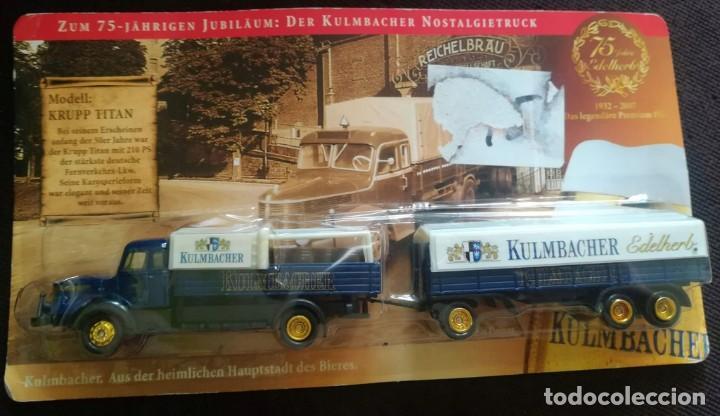 Radio Control: Trailer con remolque krupp titan, 1953 , 1/87, edición especial, totalmente en metal. - Foto 4 - 193330435