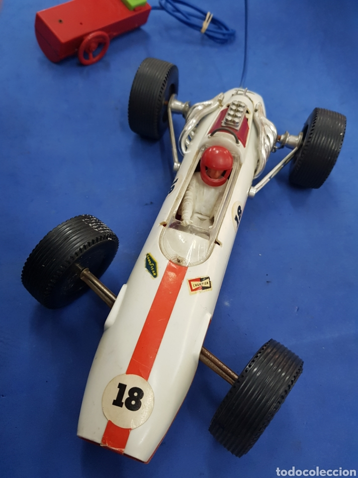 Radio Control: Coche de Fórmula 1 , teledirigido , Industria Argentina años 1960 - Foto 3 - 193703408