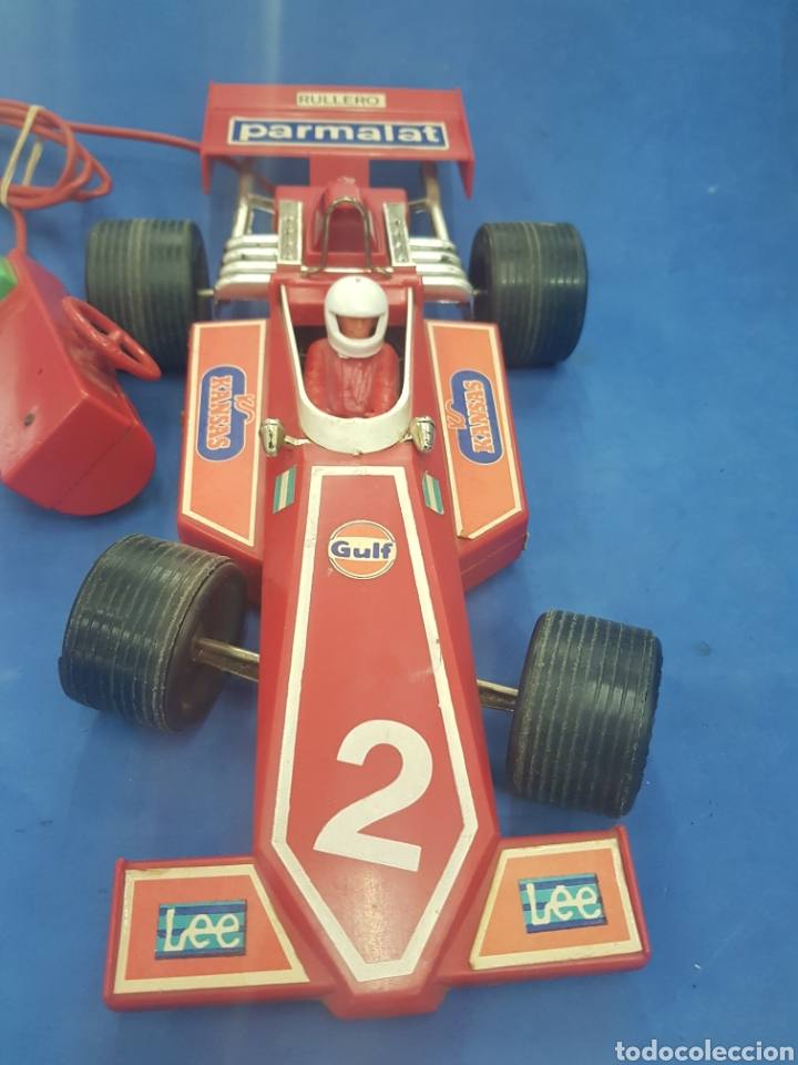 Radio Control: Gran coche Formula 1 , RULLERO , industria Argentina , años 1960-70 - Foto 2 - 193728621
