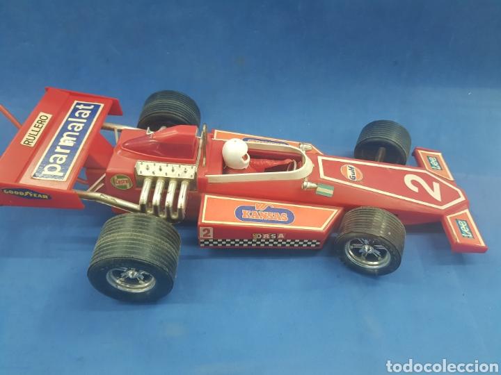 Radio Control: Gran coche Formula 1 , RULLERO , industria Argentina , años 1960-70 - Foto 3 - 193728621