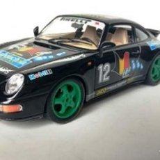 Radio Control: PORSCHE 911 CARRERA RACING 1993 (BURAGO) 1/18. Lote 194159832